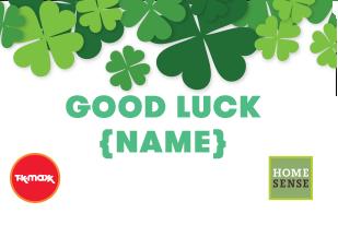 Good Luck - Four Leaf Clover