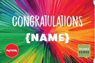 Congratulations Rainbow
